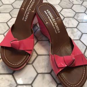 Hot Pink Shoes! 8.5 Women's/ Donald J. Pliner